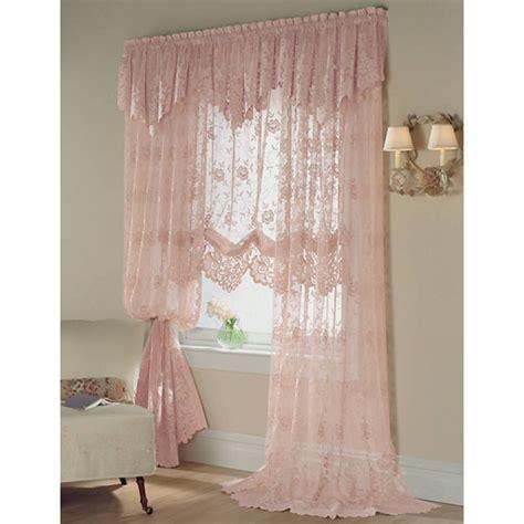 Shari Lace Curtains Jcp Home Shari Lace Rod Pocket Sheer Panel