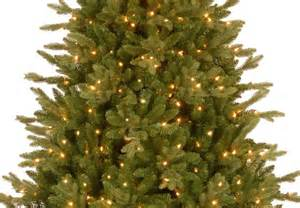 8ft pre lit avalon spruce feel real artificial christmas
