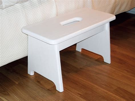 Bedside Step Stool High Bed by Bedside Step Stool Bedside Step Stool By Trev Batstone