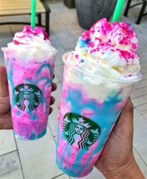 Here's What's In The Starbucks Unicorn Frappuccino