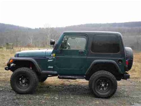 Lifted 1998 Jeep Find Used 1998 Jeep Wrangler Sport 4 0l Lifted Customized