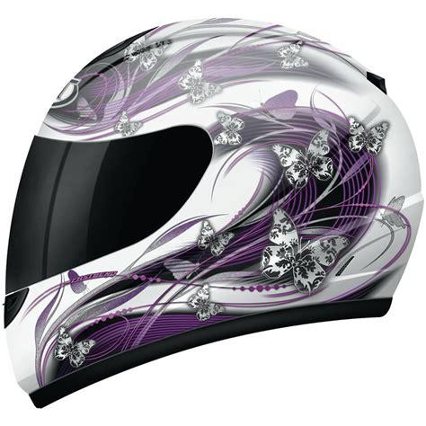 Motorradhelm Frauen mt thunder butterfly ladies womens polycarbonate