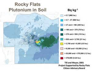 rocky flats colorado map rocky flats soil level project risk assessment
