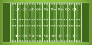 football field template football field template images