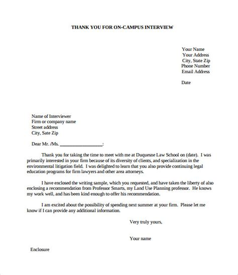 Professional Business Letter Pdf professional thank you letter format letter format 2017