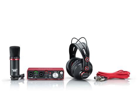 Focusrite Studio 2i2 Studio 2nd Generation Free Pop Filter focusrite 2i2 studio 2nd usb audio interface mic headphones ebay