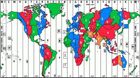 What Timezone Is In International Time Zone