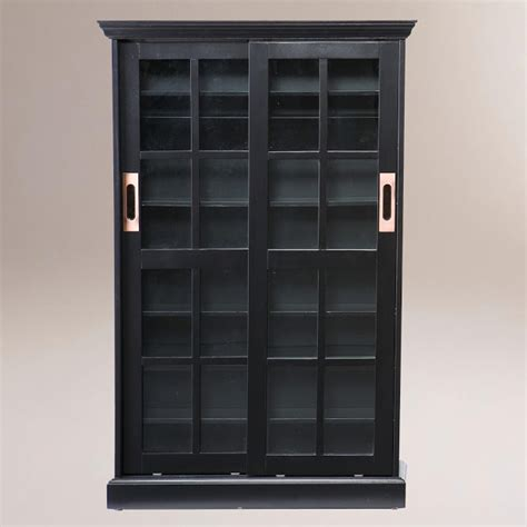 entryway bookcase pottery barn garrett glass cabinet copy cat chic