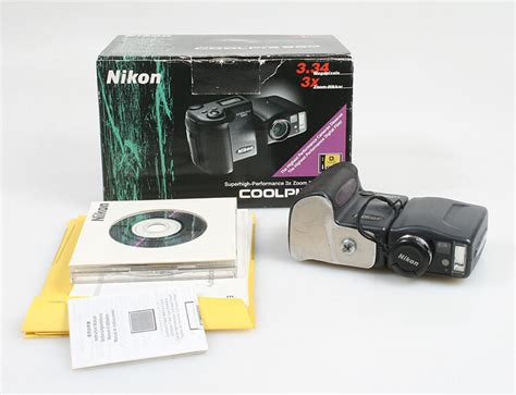 nikon collpix 990 in box for parts ebay