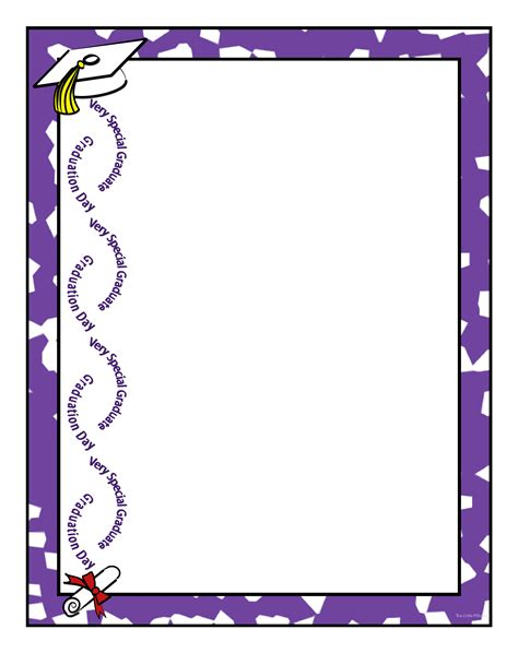 printable art to frame graduation borders free clipart best