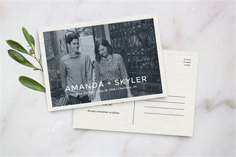 save the date postcard template invitation templates on