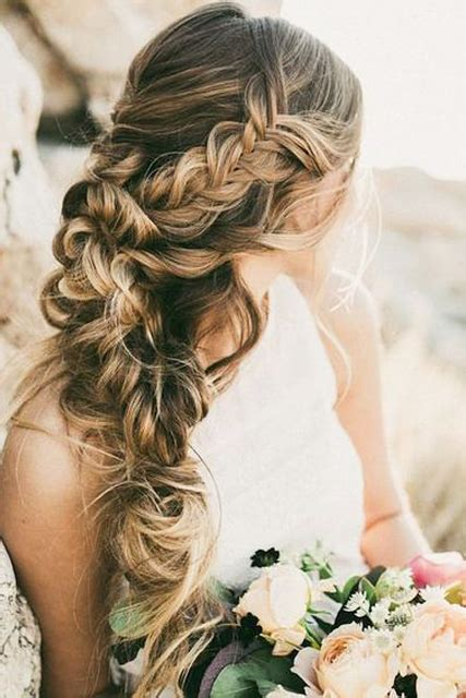 wedding hair braid unique hair styles wedding braid