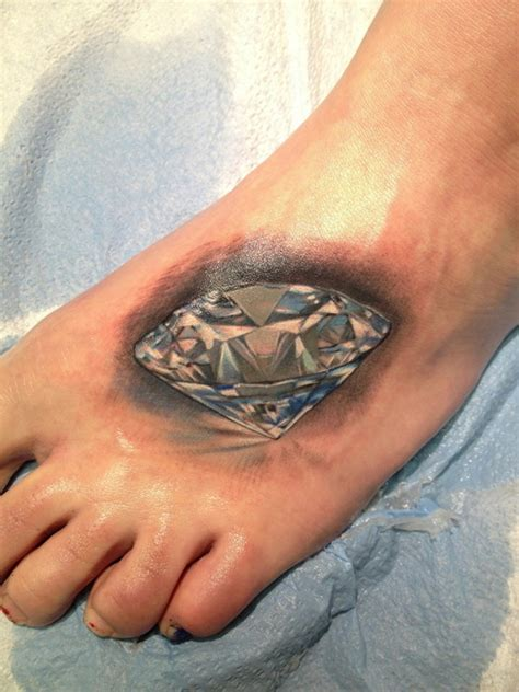 diamond tattoo by rico sandoval la mancha tattoo tattoo