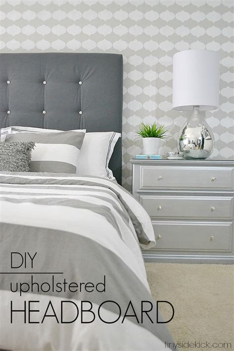 diy bed headboard diy upholstered headboard with a high end look