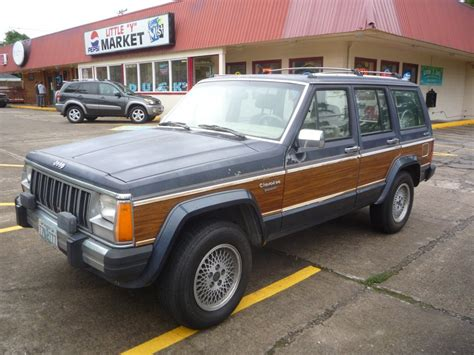 Woody Jeep Xj Day Outtake Jeep Wagoneer Limited The Woody