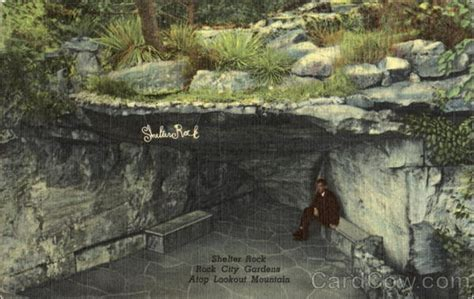 rock city gardens tennessee shelter rock rock city gardens lookout mountain tn