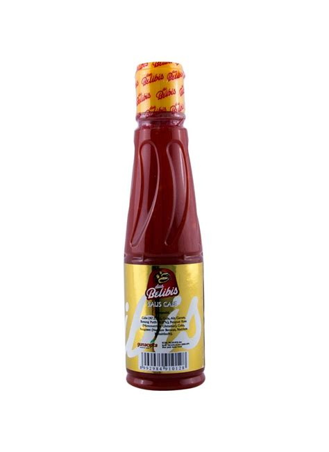 Saus Sambal Red1 135 Ml dua belibis saus cabe btl 135ml klikindomaret