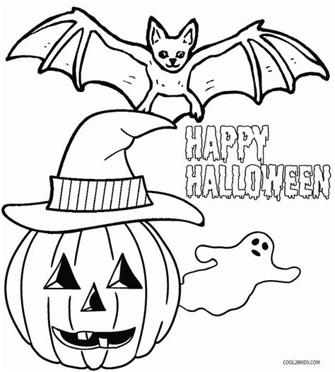 halloween coloring pages pre k printable kindergarten coloring pages for kids cool2bkids