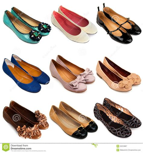 Flat Replika Gucci Kerut Diskon ballet flat shoes 3 stock image image of design black