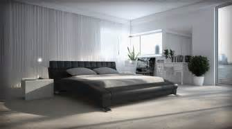 Modern king size bed frames bed and bath