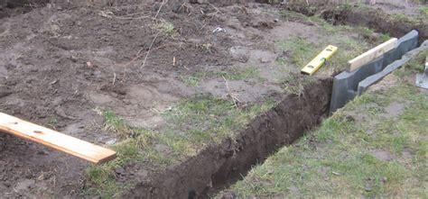 fundament für carport wie tief gew 228 chshaus fundament wie tief mischungsverh 228 ltnis zement