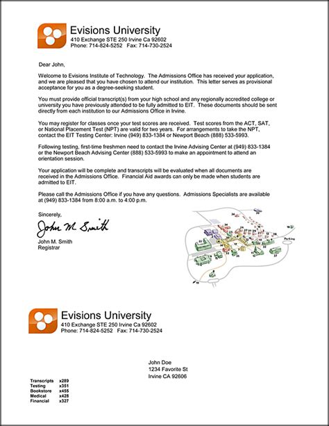 College Acceptance Letter Email How To Write A Letter Of Intent For College Admission