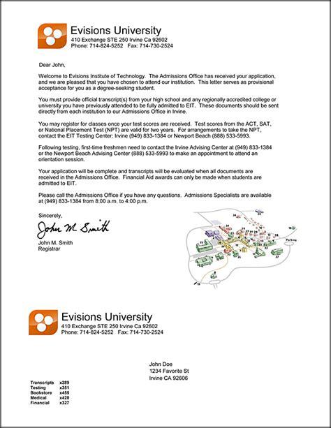 Cover Letter Sample For University Admission