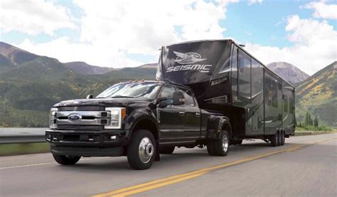 tfltruck ford  dually  rear axle    tow  camper  country