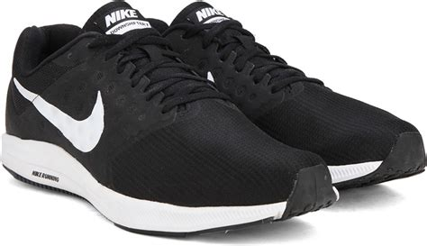 nike black and white running shoes nike downshifter 7 running shoes for buy black