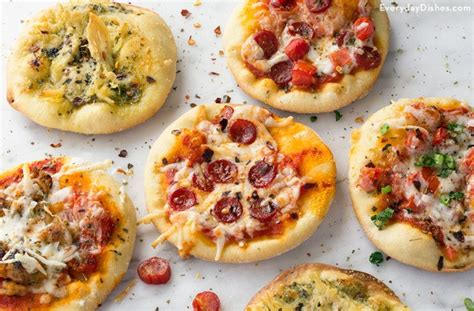 Love Home Decor by Quick And Easy Mini Pizza Appetizers Recipe