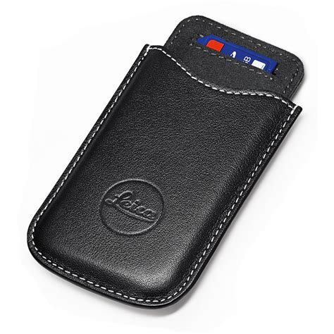 card holder leica sd and credit card holder black 18538 b h photo