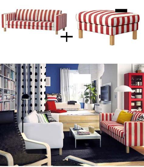 ikea karlstad sofa cover white ikea karlstad 3 seat sofa and footstool slipcover ottoman
