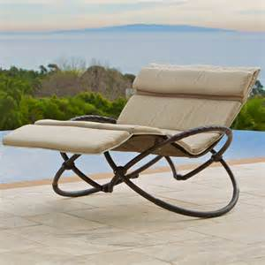 Brands outdoor double orbital zero gravity chaise lounger with cushion