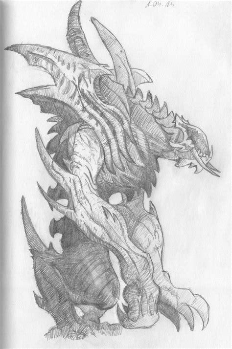 Diablo 3 Sketches by Diablo Iii Beast Sketch By Grevelus On Deviantart