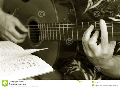Natalia Guitar Tutorial | guitar lessons royalty free stock photo image 279915