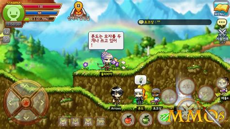 m m maplestory m review mmos