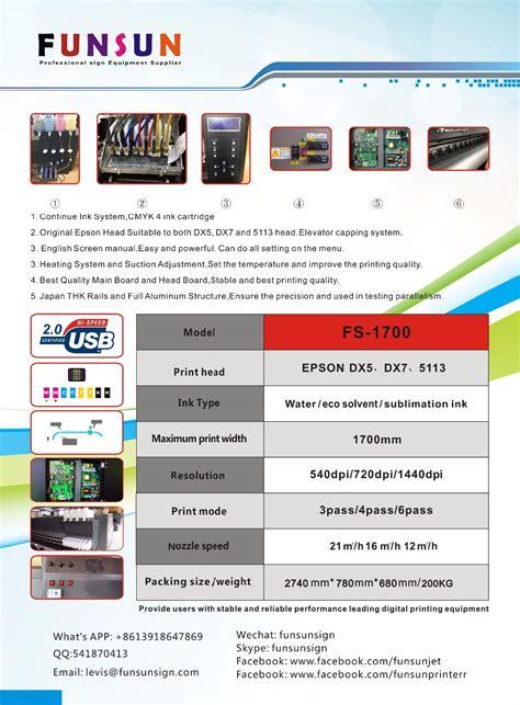 Banner Y Indoor Epson Komplit Tiang funsunjet fs 1700m banner automatic industrial cij code inkjet printer buy banner automatic
