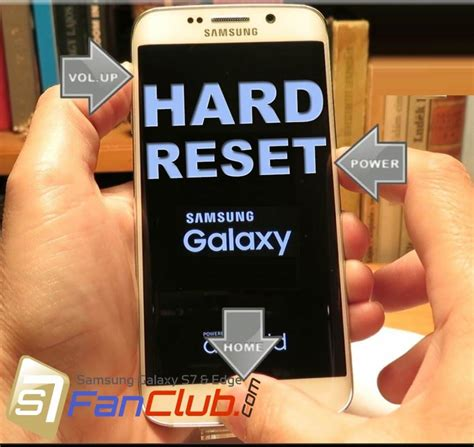 reset samsung phone to factory default how to factory reset samsung galaxy s7 galaxy s7 edge