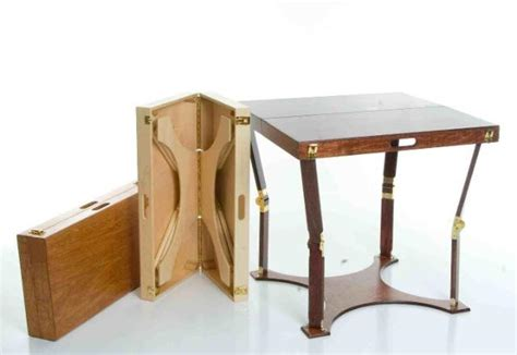 spiderlegs handmade portable folding tables