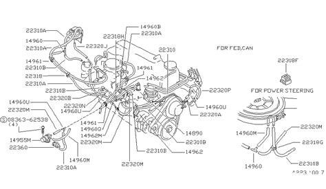 86 nissan z24 vacuum diagram nissan auto wiring diagram