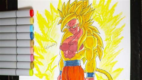 imagenes de goku legendario dibujando a legendario goku ssj dios dorado db super