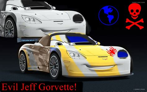 cars 2 coloring pages jeff gorvette evil jeff gorvette by jeffandlewis on deviantart