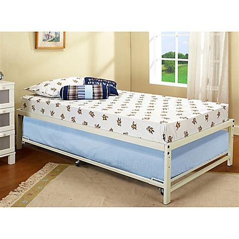 bed risers bed bath and beyond k b furniture hi riser metal bed with pop up bed bath
