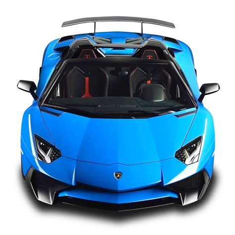 blue lamborghini png lamborghini aventador sv roadster blue car png image pngpix