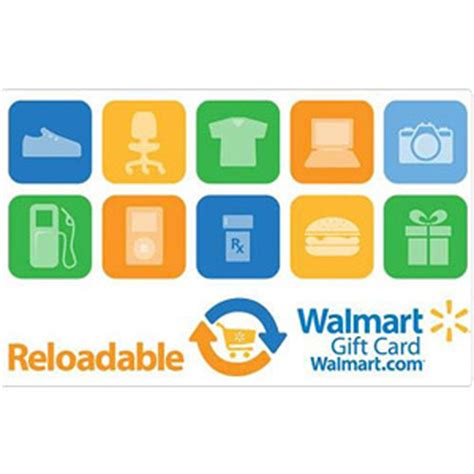Are Gift Cards Reloadable - reloadable walmart gift card walmart com