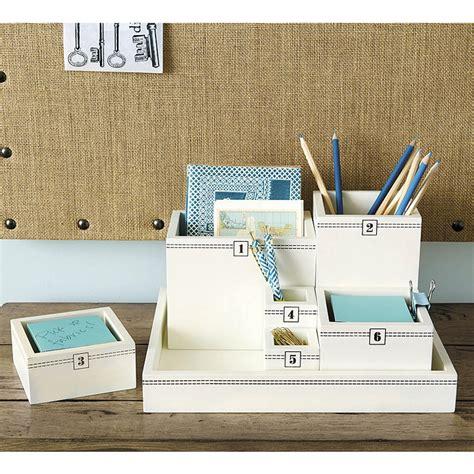 modular desk organizer grayson modular desktop organizer ballard designs