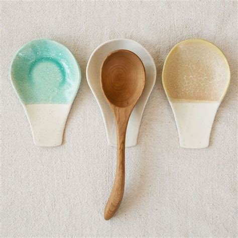 Ceramic Spoon ceramic spoon rest ceramic spoons spoon rest and pottery