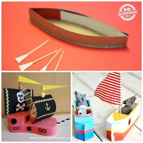 how to make a paper racing boat 18 boat crafts for kids to make kids activities