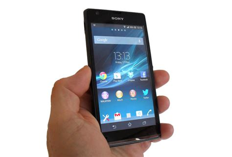 sony xperia sp review review sony xperia sp the register