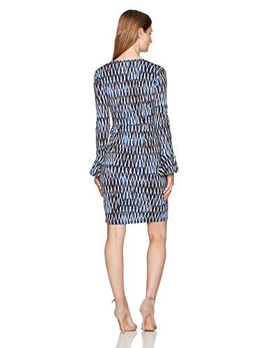 geo patterned jersey dress london times women s petite geo wire printed matte jersey